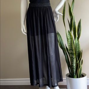 H&M Long Black Skirt